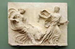 Roman relief Royalty Free Stock Image