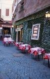Roman restaurant Royalty Free Stock Photos