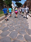 Roman road, Rome, Italy Royalty Free Stock Photography