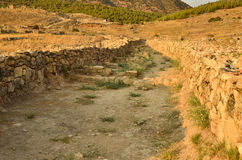 Roman Road Turkey Stock Image