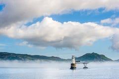 Roman Rock Lighthouse in False Bay. Stock Photography