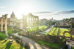 roman rome fördärvar Royaltyfri Fotografi