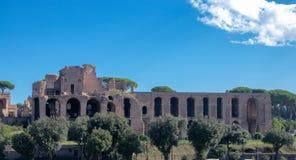 roman rome fördärvar arkivbild