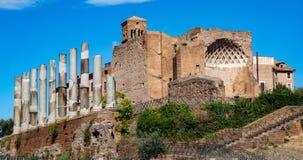 roman rome fördärvar royaltyfria foton