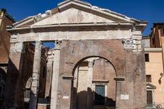 roman rome fördärvar fotografering för bildbyråer