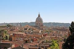 Roman roofs Stock Photo