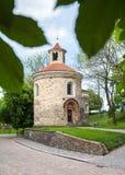 Roman Rotunda on Vysehrad hill in Prague, Czech Republic Royalty Free Stock Photos
