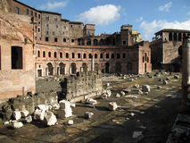 Roman Ruïnes Stock Foto's