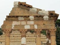 Roman ruïnes stock afbeelding