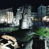 Roman ruïnes Royalty-vrije Stock Afbeeldingen