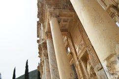 Roman ruïnes in Ephesus, Turkije Stock Afbeeldingen