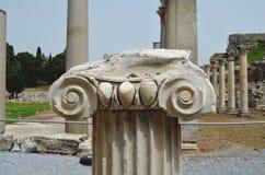 Roman ruïnes in Ephesus, Turkije Royalty-vrije Stock Foto