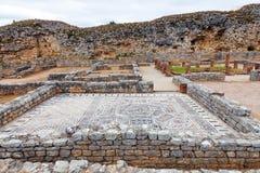 Roman ruïnes van Conimbriga Mening van de Skeletten Domus Royalty-vrije Stock Fotografie