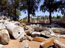 Roman ruïnes van Merida Royalty-vrije Stock Foto's