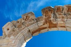 Roman Ruin. Detail of a roman ruin in europe Stock Photography