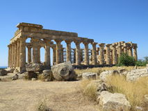 Roman ruin Stock Images
