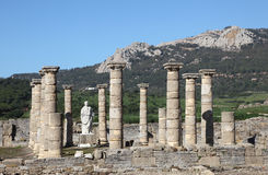 Roman ruin in Bolonia, Spain Stock Photography