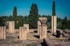 Roman ruin italica Spain Stock Image