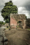 Roman ruin in Pompeii Royalty Free Stock Photography