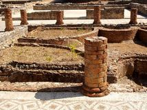 Roman ruins. Of Conimbriga, Portugal Royalty Free Stock Photo