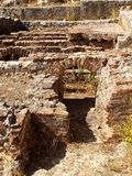 Roman ruins. Of Conimbriga, Portugal Royalty Free Stock Photography
