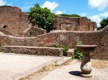 Roman ruins Royalty Free Stock Photo