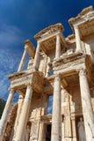 Roman Ruins. A roman building in europe Royalty Free Stock Photos