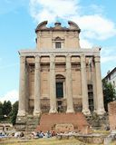 Roman Ruins Arkivfoto