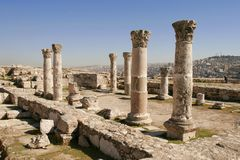 The Roman ruins Stock Image