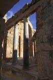Roman Ruins. Leptis Magna Libya Stock Photo