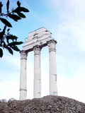 Roman Ruins. Roman Forum stock image