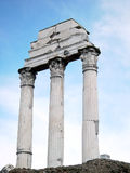 Roman Ruins. Roman Forum ruins stock photography