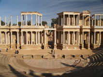 Roman ruins. In Merida, Spain Stock Photography