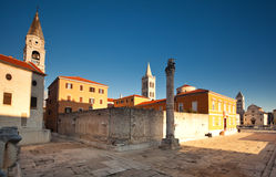 Free Roman Ruins And Church Of St. Donat, Royalty Free Stock Image - 23399016