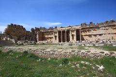 Roman Ruins at Baalbeck, Lebanon Stock Image