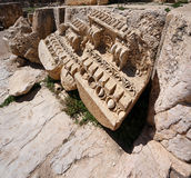 Roman Ruins at Baalbeck, Lebanon Stock Images