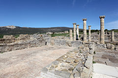 Roman ruins in Bolonia, Andalusia, Spain Royalty Free Stock Image