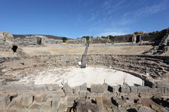 Roman ruins in Bolonia, Andalusia, Spain Stock Photos