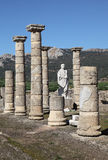 Roman ruins in Bolonia, Spain Royalty Free Stock Photo