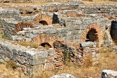 Roman ruins of Conimbriga Royalty Free Stock Photo