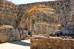 Roman ruins of Conimbriga royalty free stock photos