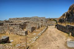 Roman ruins of Conimbriga Royalty Free Stock Photography