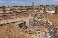 Roman ruins of Conimbriga Royalty Free Stock Photo