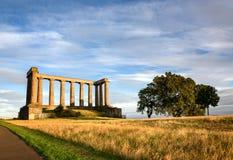 Roman Ruins Edinburgh royalty-vrije stock afbeeldingen