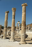 Roman ruins at Ephesus, Turkey Royalty Free Stock Photos