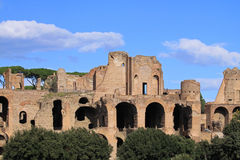 Roman ruins Stock Photography