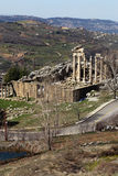 The Roman Ruins at Faqra, Lebanon Stock Photo