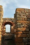 Roman ruins - gate Stock Images