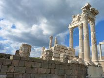 The Roman ruins of Hierapolis in Turkey Stock Image