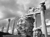 The Roman ruins of Hierapolis in Turkey Royalty Free Stock Images